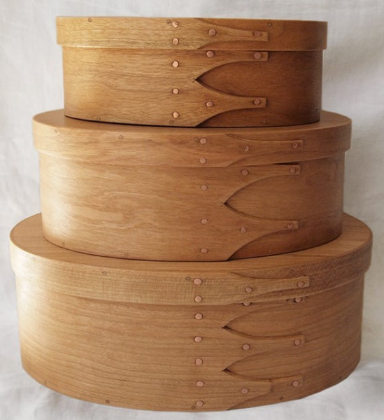 101 Round wooden shaker boxes