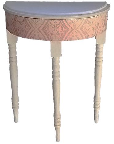 119 Half moon table