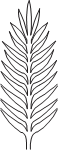 5006 Palm Laser cut leaves 1_12